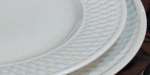 basket weave plates